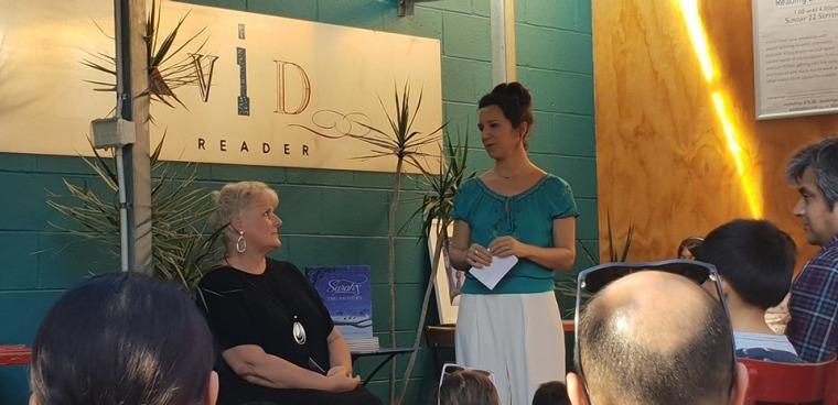 Helene thanks Janine for her story